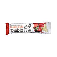 Мюсли-батончик Diablo без добавления сахара, с клубникой, покрытый йогуртом, 30 г (срок до 08.10.21)