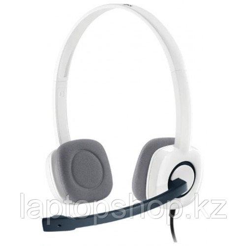 Наушники с микрофоном Logitech Corded Stereo Essential Headset (Borg) H150