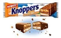 Шоколадный батончик knoppers с лесным орехом (24шт-упак)