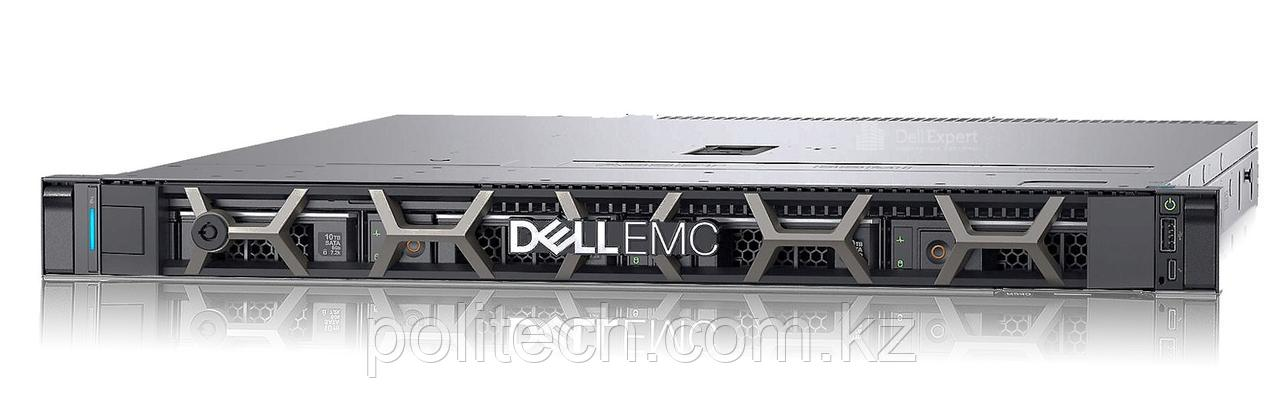 "Dell PowerEdge R240 (1U Rack, Xeon E-2124, 3300 МГц, 4, 8, 1x 16 ГБ, LFF 3.5"", 4, 1x 2 ТБ"