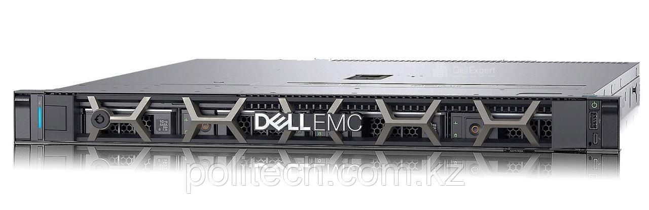 "Dell PowerEdge R340 (1U Rack, Xeon E-2174G, 3800 МГц, 4, 8, 1x 16 ГБ, SFF 2.5"", 8)"
