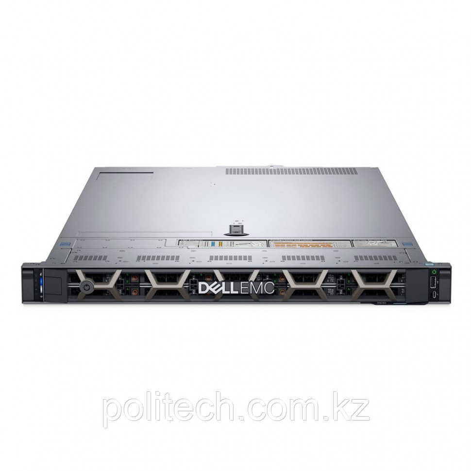 "Dell PowerEdge R440 (1U Rack, Xeon Bronze 3204, 1900 МГц, 6, 8.25, 1x 16 ГБ, LFF 3.5"", 4, 1x 4 ТБ)"