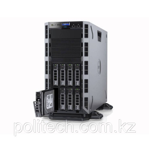 "Dell PowerEdge T330 (Tower, Pentium G4500, 3500 МГц, 2, 3, 1x 24 ГБ, LFF 3.5"", 8, 1x 2 ТБ)"