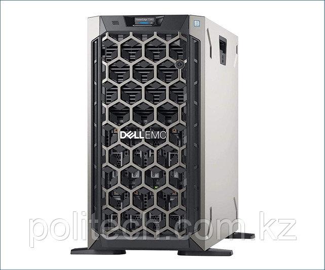 "Dell PowerEdge T340 (Tower, Xeon E-2276G, 3800 МГц, 6, 12, 1x 16 ГБ, LFF 3.5"", 8, 1x 1.2 ТБ)"