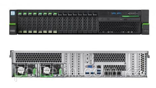 "Fujitsu RX2540 M2 (2U Rack, Xeon E5-2609 v4, 1700 МГц, 8, 20, 8x 16 ГБ, SFF 2.5"", 16, 8x 300 ГБ)"