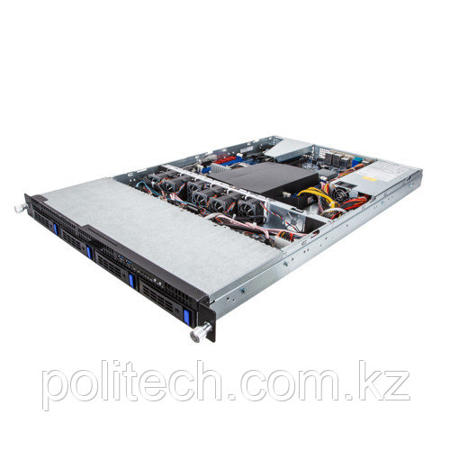 """Gigabyte R160-D61, 6NR160D61MR-M7-110 (1U Rack, Xeon E5-2600 v4, 3400 МГц, 4, 8, LFF 3.5"""", 4)"""