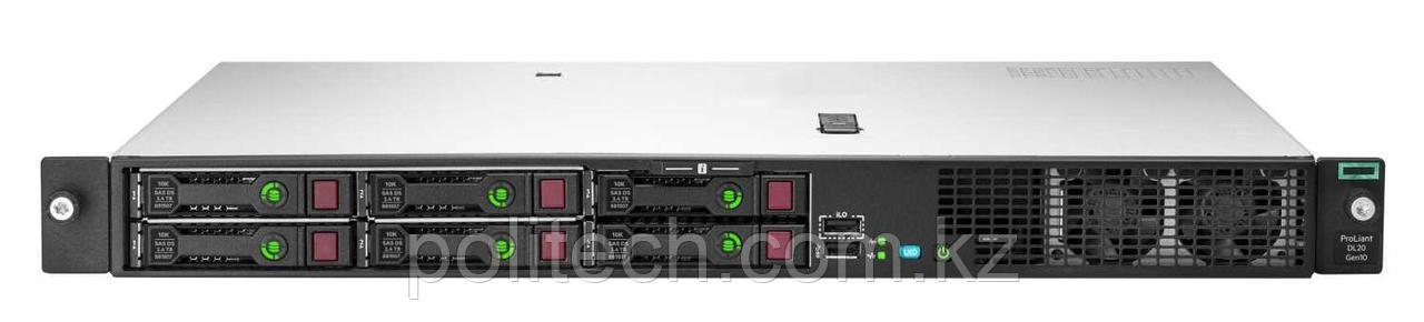 "HPE ProLiant DL20 Gen10 (1U Rack, Xeon E-2224, 3400 МГц, 4, 8, 1x 8 ГБ, LFF 3.5"", 2)"