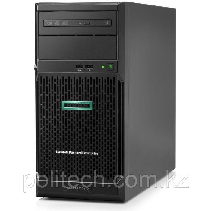"HPE ProLiant ML30 Gen10 (Tower, Xeon E-2234, 3600 МГц, 4, 8, 1x 16 ГБ, LFF 3.5"", 4)"