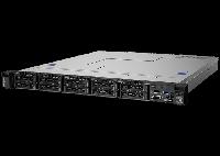 "Lenovo ThinkSystem SR250 (1U Rack, Xeon E-2224, 3400 МГц, 4, 8, 1x 8 ГБ, LFF 3.5"", 4)"