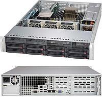 "Supermicro CSE-825TQC-R740LPB/X11DPL-I (2U Rack, Xeon Silver 4208, 2100 МГц, 8, 11, 1x 16 ГБ, LFF 3.5"", 8)"