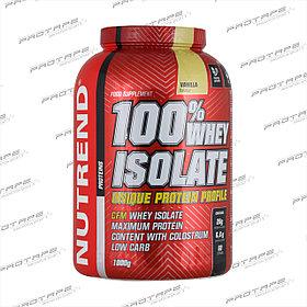 Протеин белок Nutrend Вей Изолят / Whey Isolate 100%, банка 1800 г.