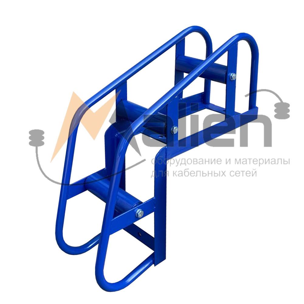 Ролик кабельный угловой направляющий РКУ 3-150М (диаметр кабеля до 150 мм, нагрузка на ролик до 200 кг) МАЛИЕН