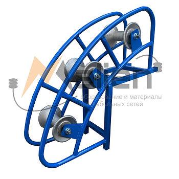 РКУ 3-120А Ролик кабельный угловой направляющий МАЛИЕН