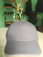 Серая кепка | бейсболка серая | серая однотонная кепка | однотонная серая бейсболка | кепка серая однотонная |, фото 1
