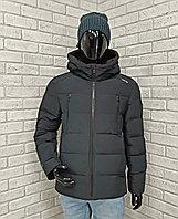 Зимняя мужская куртка Kings Wind темно- зеленая