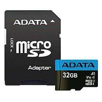 Карта памяти ADATA AUSDH32GUICL10A1-RA1 microSDHC 32GB