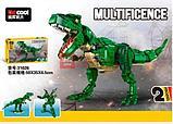 Конструктор аналог лего Lego Decool 31026 Тираннозавр - трансформер, фото 2
