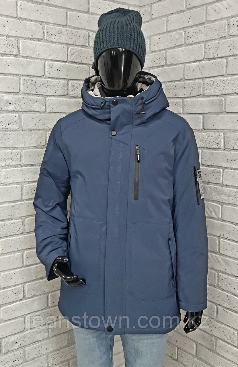 Зимняя мужская куртка Kings Wind  синия