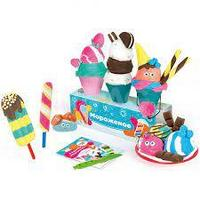Набор для детской лепки из легкого пластилина Genio Kids Кафе Мороженое, TA1716