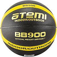 Мяч баскетбольный Atemi, р.7, синтетическая кожа ПУ, 12 панелей, BB900