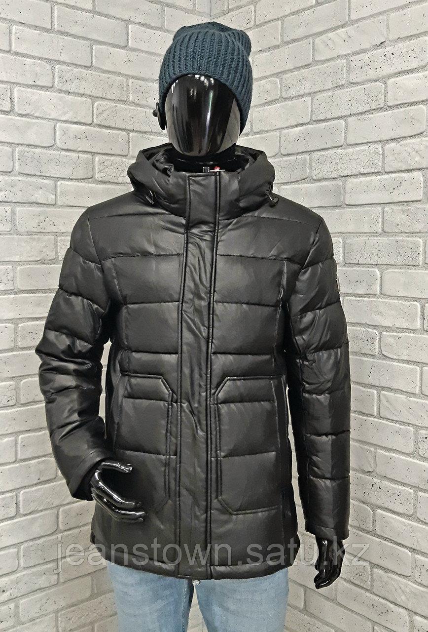 Зимняя мужская куртка Kings Wind  черная