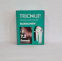 Краска для волос Тричап на основе хны Burgundy (бордовый оттенок) ШТУЧНО ( 10гр)