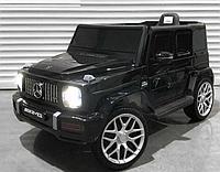 Детский электромобиль Mercedes-Benz Гелендваген V8 одноместный черный
