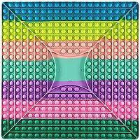 Поп Ит игра антистресс с кубиками, Pop It большого размера 40 на 40 см