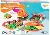 Набор для детской лепки из легкого пластилина Genio Kids Шеф-повар TA1718