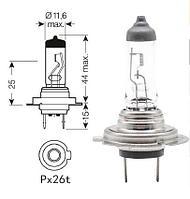 Лампа головного света автомобильная галогенная - H7