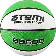 Мяч баскетбольный Atemi, р.7, резина ПУ, 8 панелей, BB500