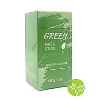Green Mask Stick/Маска-стик с экстрактом зеленого чая/Очищающая маска для лица/Маска против прыщей