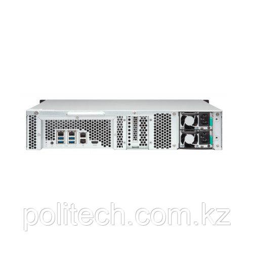 Дисковая СХД Qnap TS-1253BU-RP-8G NAS (Rack)
