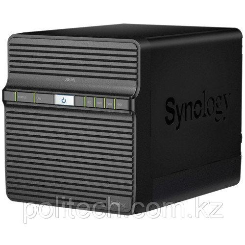 Дисковая СХД Synology NAS-сервер DS416j 4xHDD (Tower)