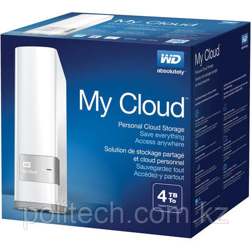 Дисковая СХД Western Digital My Cloud (4ТБ) WDBCTL0040HWT-EESN (Tower)