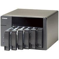 Дисковая СХД Qnap Сетевой RAID-накопитель, 6 отсеков для HDD, HDMI-порт. Intel Celeron J1800 2,41 ГГц , 1ГБ.