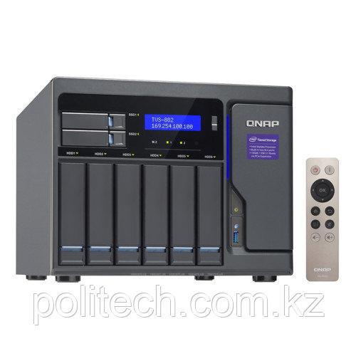Дисковая СХД Qnap TVS-882-I5-16G (Rack)