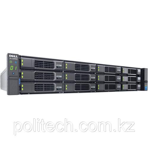 Дисковая СХД Dell SCv2020 210-ADRV-001 (Rack)