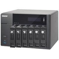 Дисковая СХД Qnap Сетевой RAID-накопитель, 6 отсека для HDD, HDMI-порт. TVS-671-i5-8G (Tower)