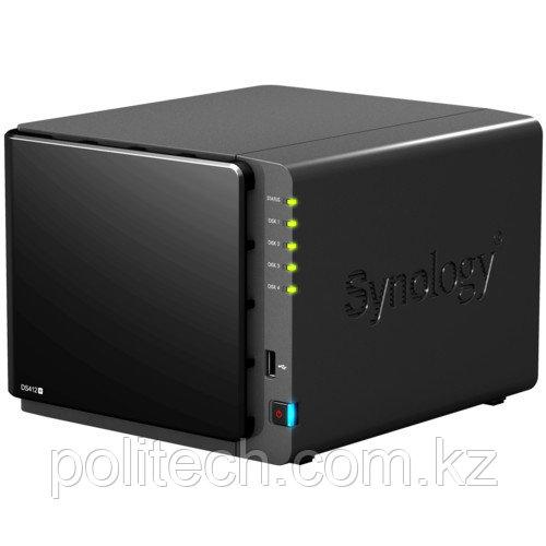 Дисковая СХД Synology NAS-сервер Synology DS412+ 4xHDD (Tower)
