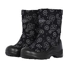 Обувь детская Kuoma Lumi Snow Black Wheel