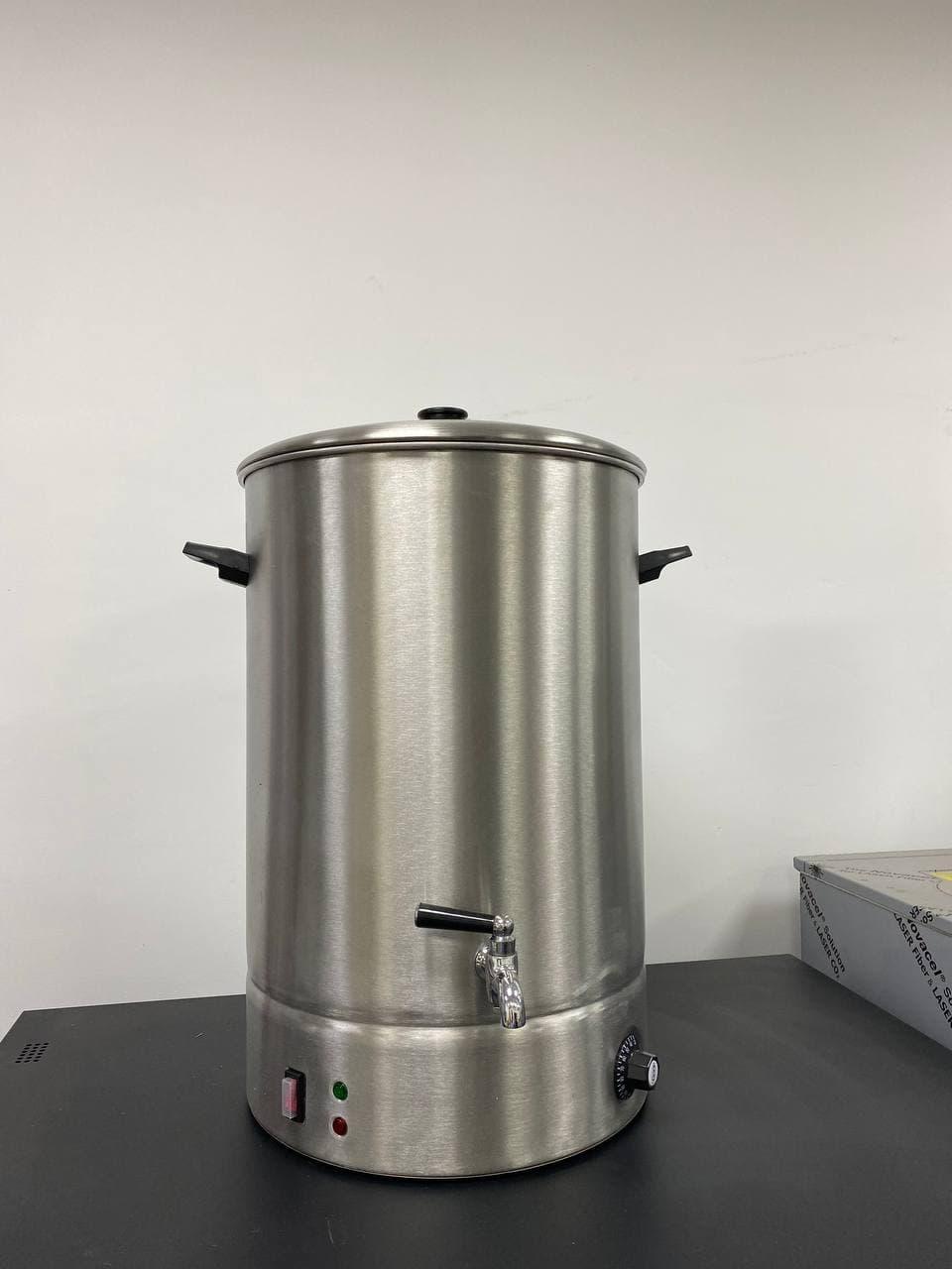 Электро-кипятильник (чаераздатчик) 40 литров, без водомера. Гонконг-стайл.