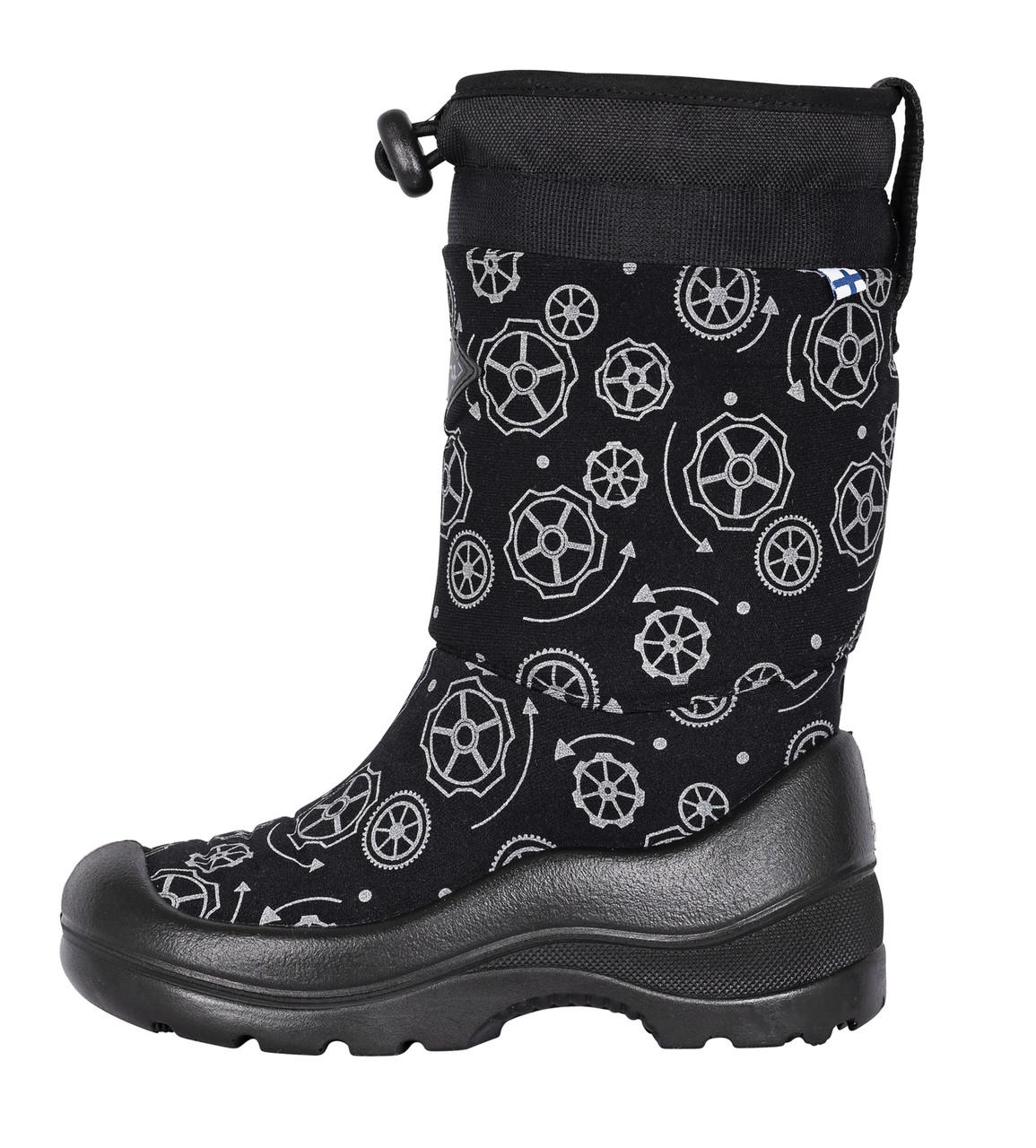 Обувь детская Kuoma Snow snowlock, Black Wheel