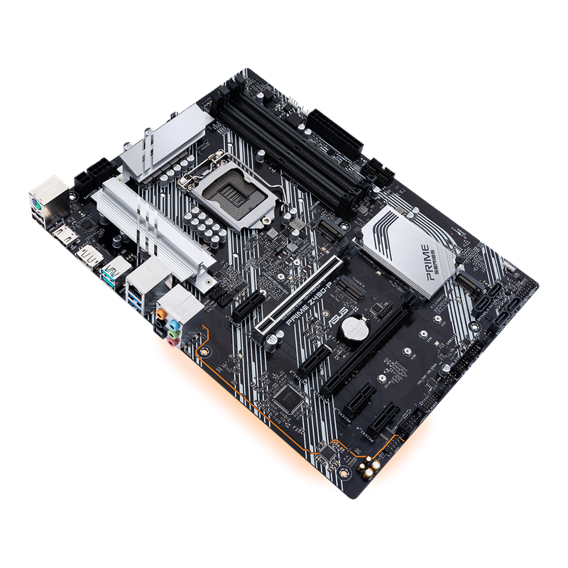 Материнская плата ASUS PRIME Z490-P LGA1200 4xDDR4 4xSATA3 Raid 2xM,2 HDMI DP ATX