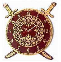 """Часы """"Казахские традиции -3"""" (52 см)"""