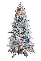 Комнатная искусственная елка заснеженная световая Россо премиум 1.8 м