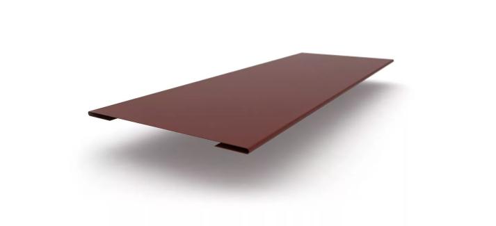 Стыковочная планка простая глянец 70х3000 мм Коричневый