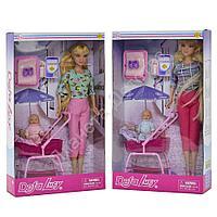 Кукла Defa Lucy с коляской и 1 пупсом, в ассорт