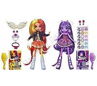 My Little Pony Equestria Girls 2 Куклы в упаковке Sunset Shimmer и Twilight Sparkle
