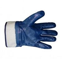 Перчатки нитриловые полное покрытие, крага